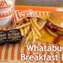 Whataburger Breakfast Hours