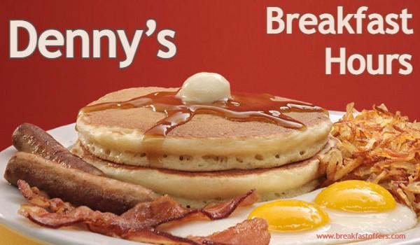 Denny's Breakfast Hours
