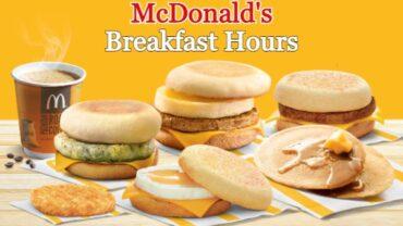 McDonalds Breakfast Hours